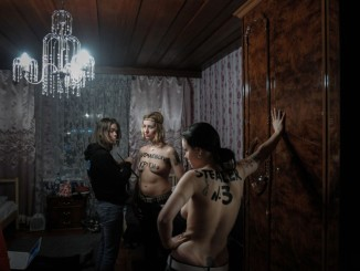 FEMEN by Denis Sinyakov