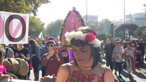FEMEN protest in Madrid 4