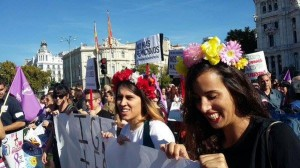 FEMEN protest in Madrid 3